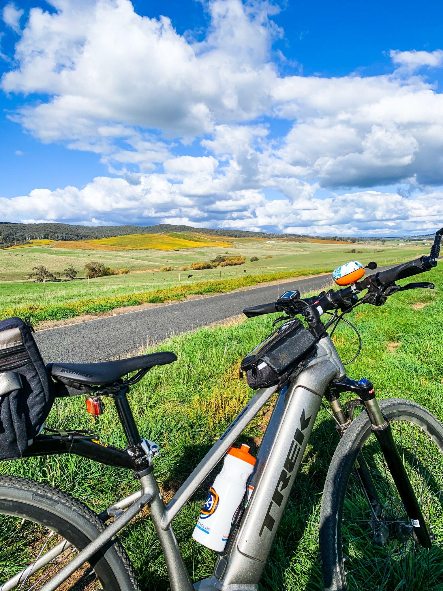 New bike and rail trail views