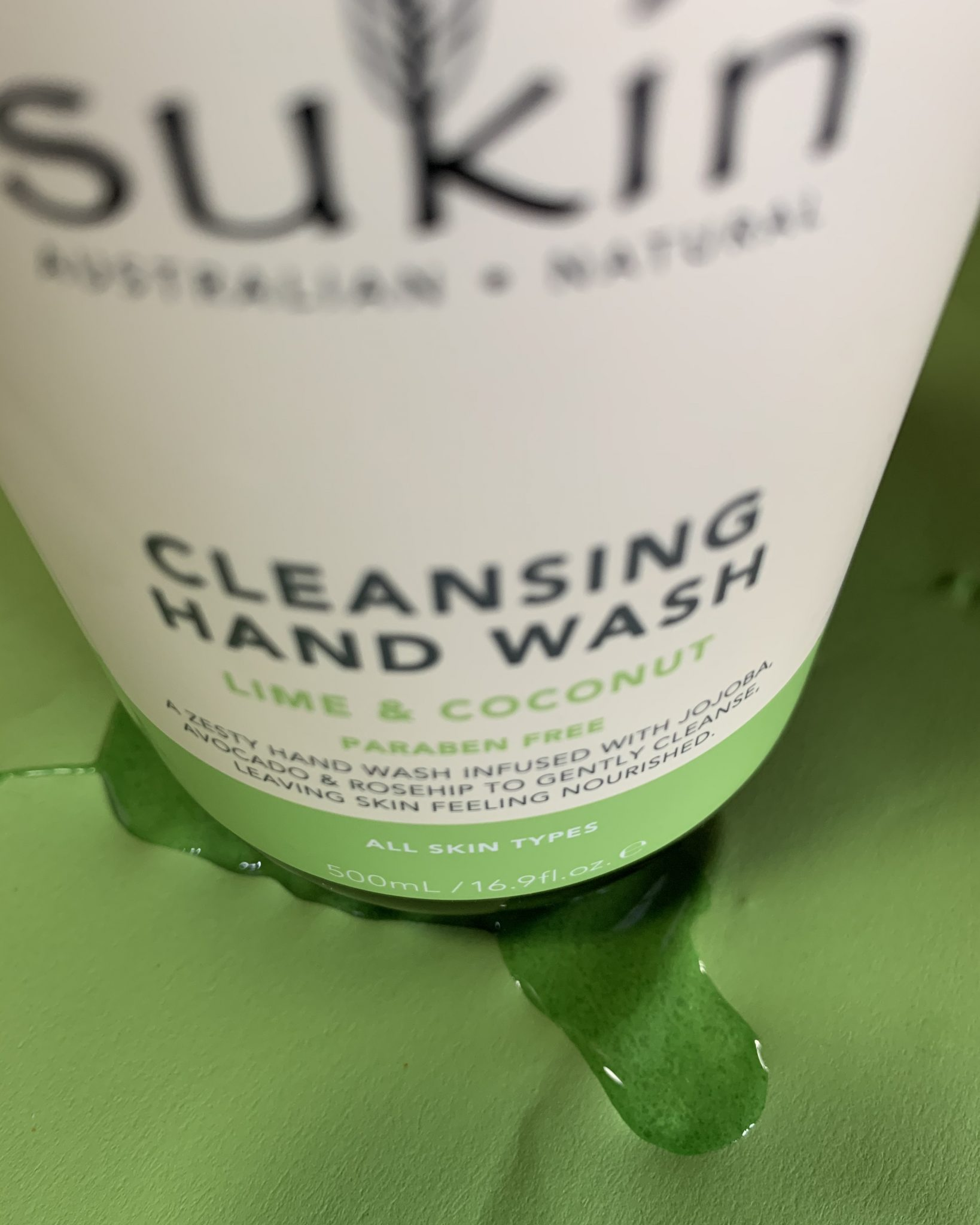 6/10 Ordinary Objects: something you wash with - hand wash