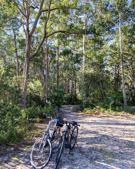 Myola bike ride