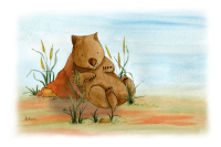 Wombat blog header