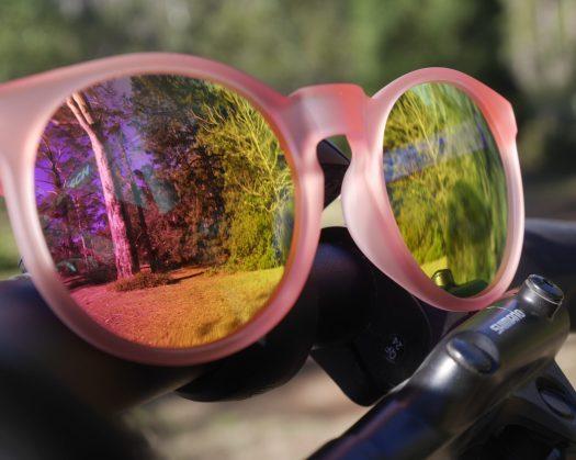 Bike sun glasses