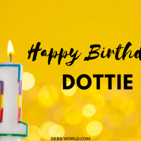 Hip hip hooray, it's Dottie's first birthday!
