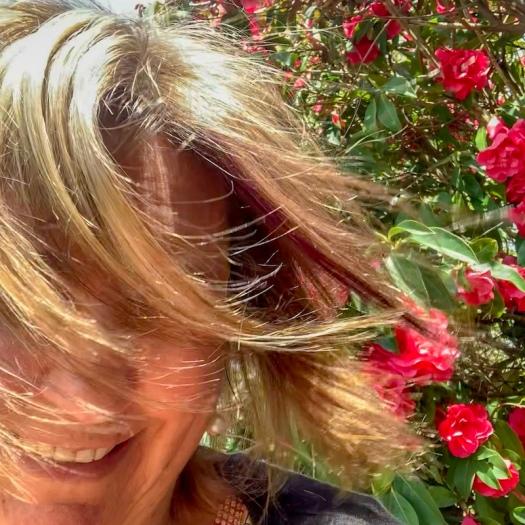 Deb's new hair