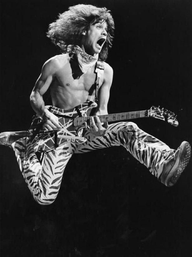 Eddie Van Halen Jump