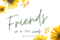 Blogging friends