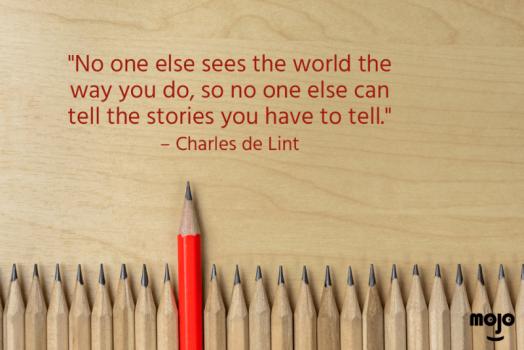 MOJO day 29 - telling stories