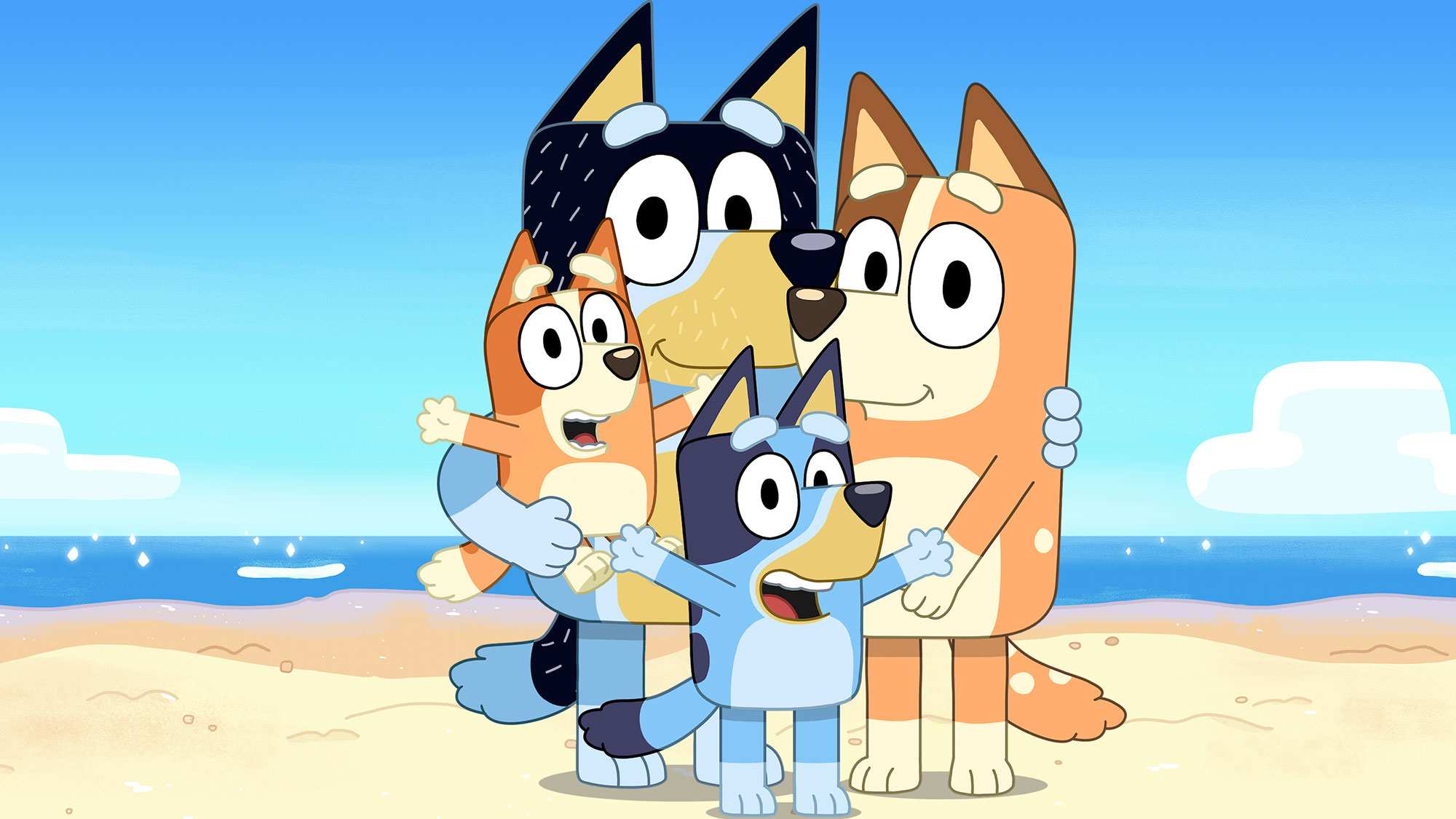 Bluey and family