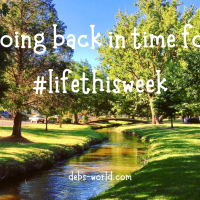 Going back in time for #lifethisweek
