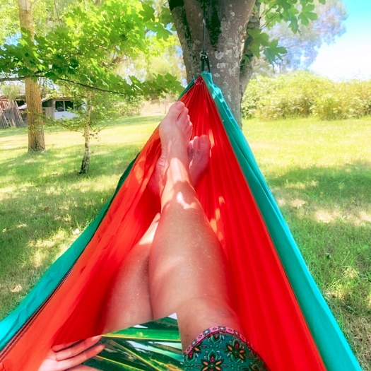 hammock life in the garden