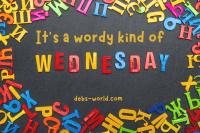 Wordy Wednesday 2021