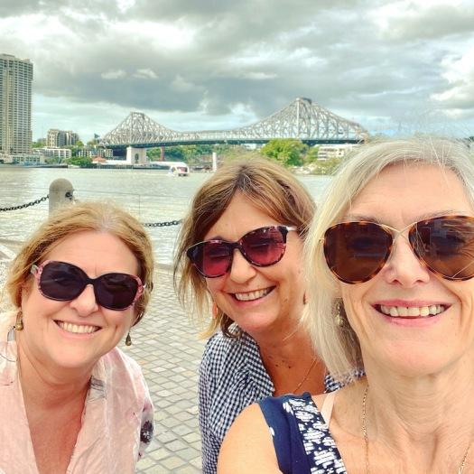 Three bloggers - Jo, Debbie, Sue