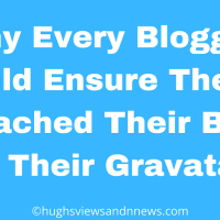 Why Every Blogger Should Ensure They've Attached Their Blog To Their Gravatar