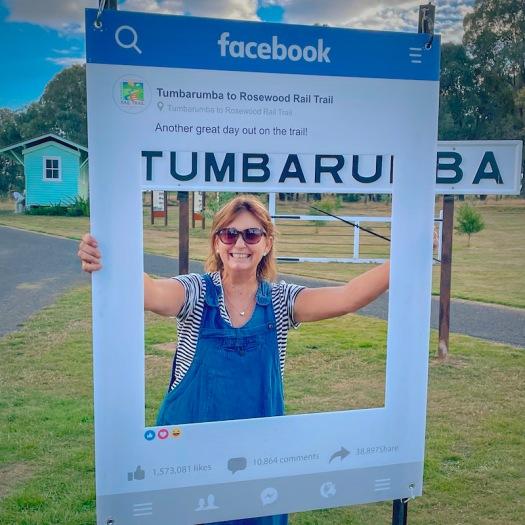Smiles at Tumbarumba to Rosewood Rail Trail