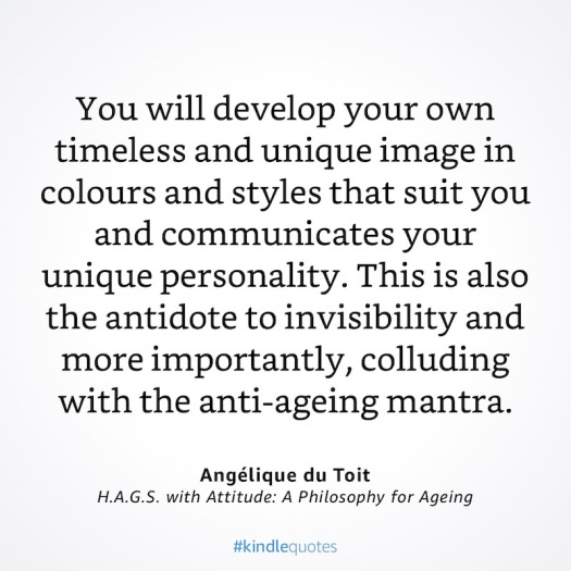 Colour and styles from H.A.G.S with Attitude