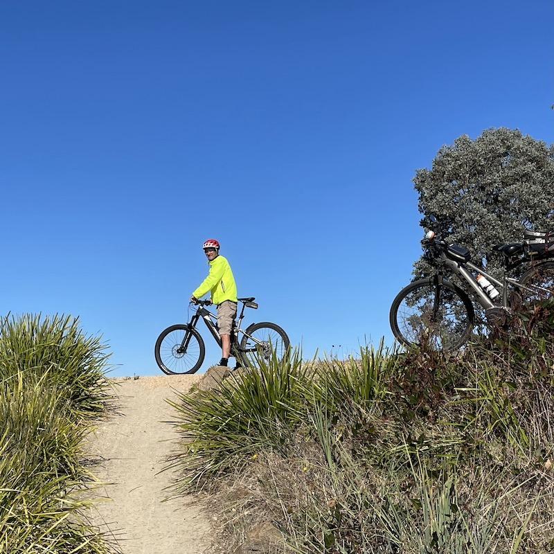 Grant and his bike