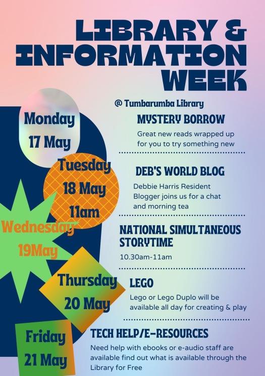 Library Information Week in Tumbarumba
