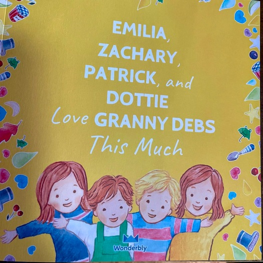 Mothers' Day book from my grandchildren