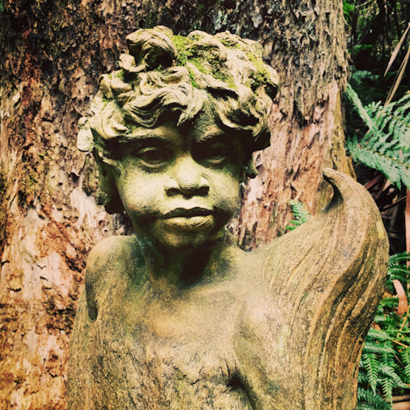 Tree scultpure - William Ricketts Sanctuary