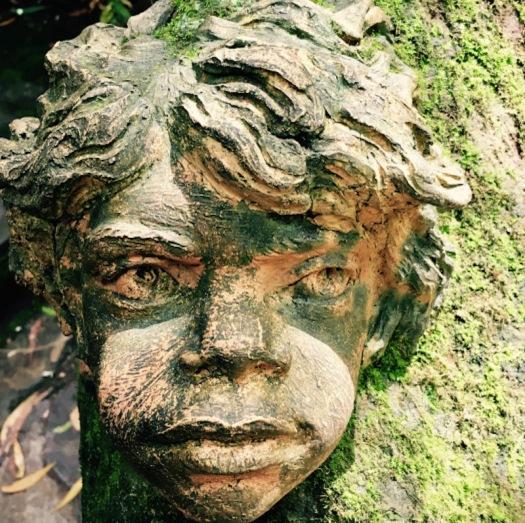 Tree face scultpure - William Ricketts Sanctuary