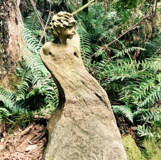 Tree sculpture in Dandenong Vic