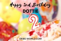 Dottie 2nd birthday feature