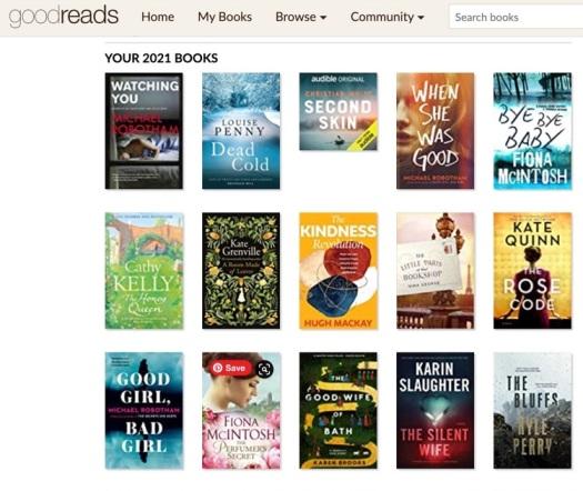 recent books read