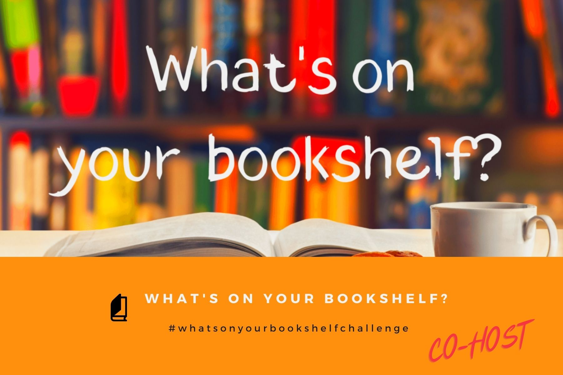 What's on your bookshelf badge