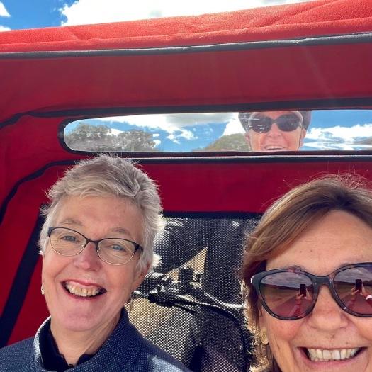 selfie in the trike