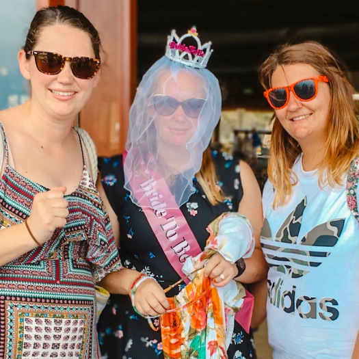 Sisters with Bride to be in Fiji
